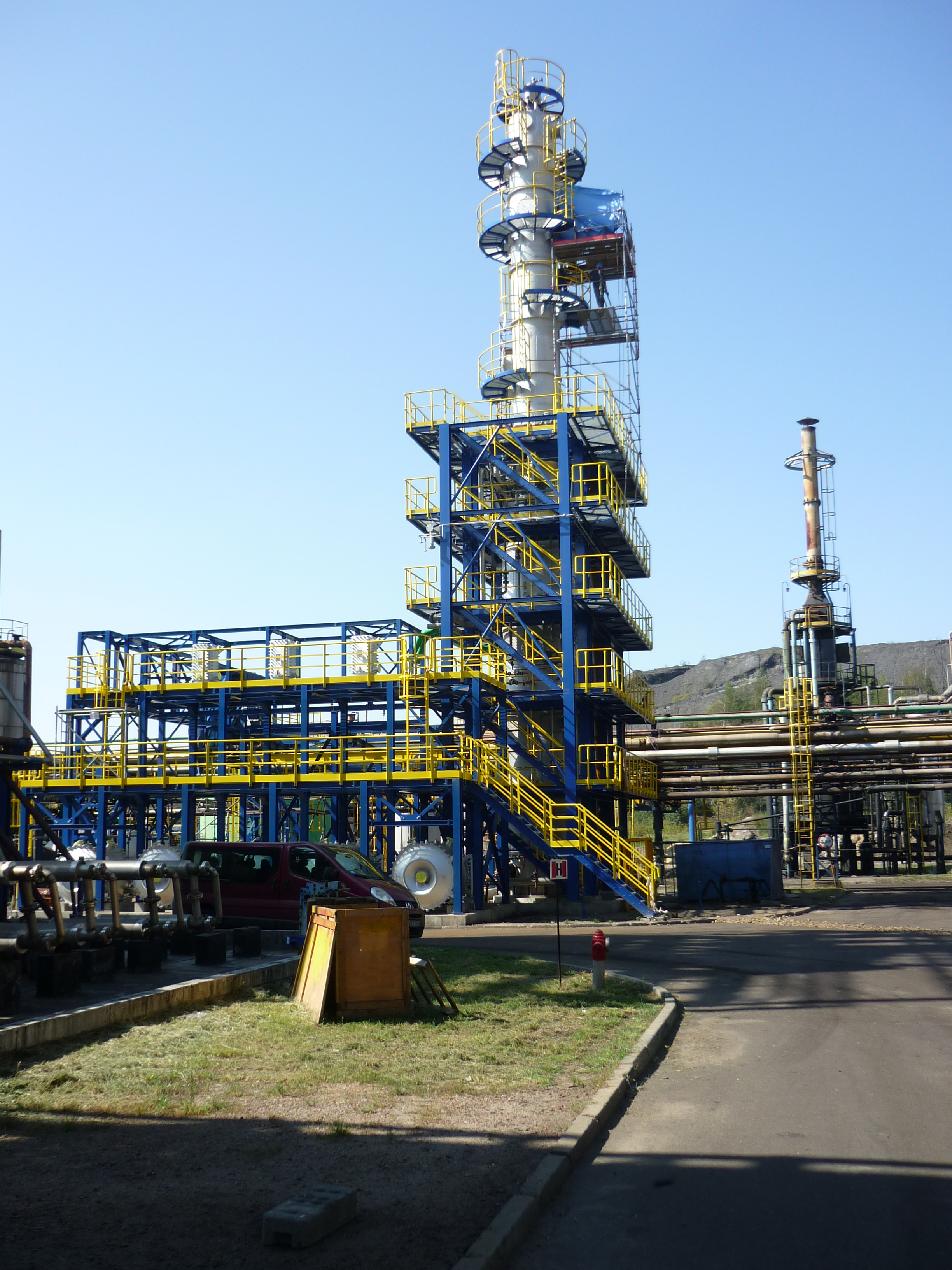 Wash Oil Still for JSW Koks coke plant Radlin